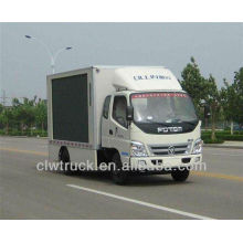 High quality Foton truck led display,mini led advertising screen